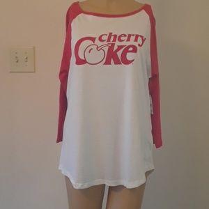 Coca-Cola brand Baseball Logo T-Shirt